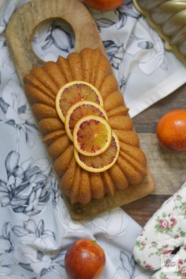 Bizcocho de almendra yogur y naranja con harina en mis for Bizcocho de yogur y almendra
